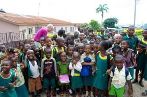 St Justin school children